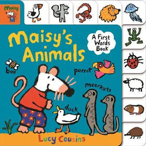 Maisy's Animals: A First Words Book Lucy Cousins