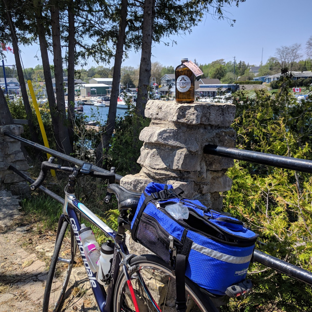 Cycling to Tobermory