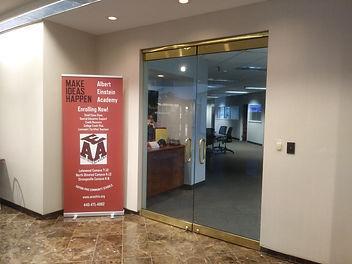 Admin office front doors.jpg