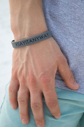 #SayItAnyway Bracelet (Pack of 5)