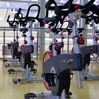 Indoor-Cycling schnuppern
