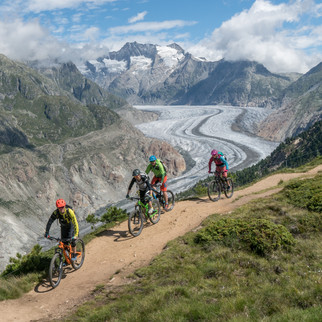 Bikeweekend im Wallis