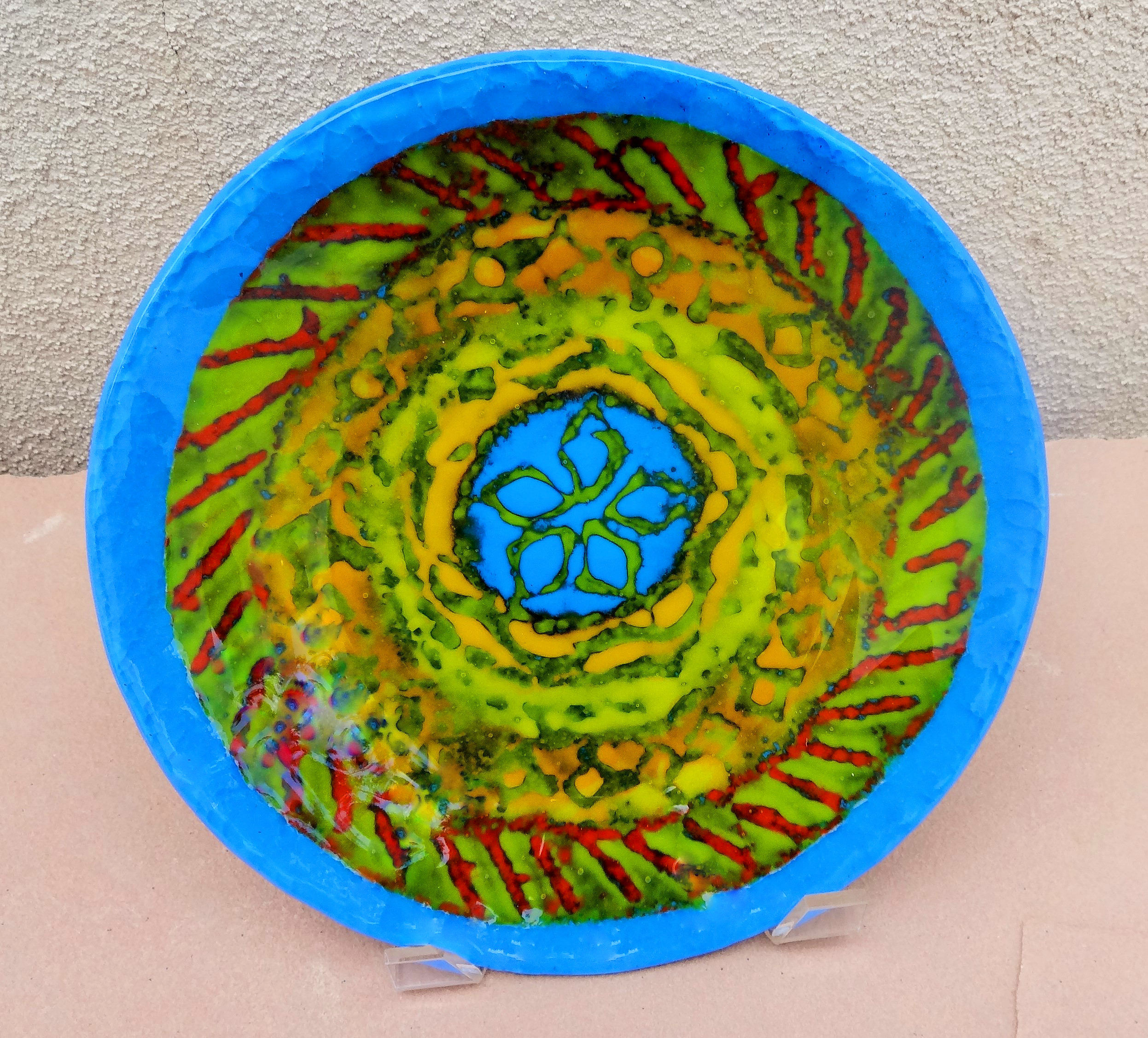 GoldBlue Bowl