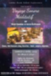 Copia de Galaxy party event Flyer Templa