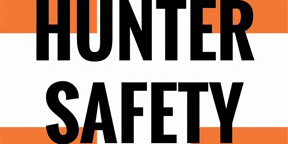 HUNTERS SAFETY COURSE