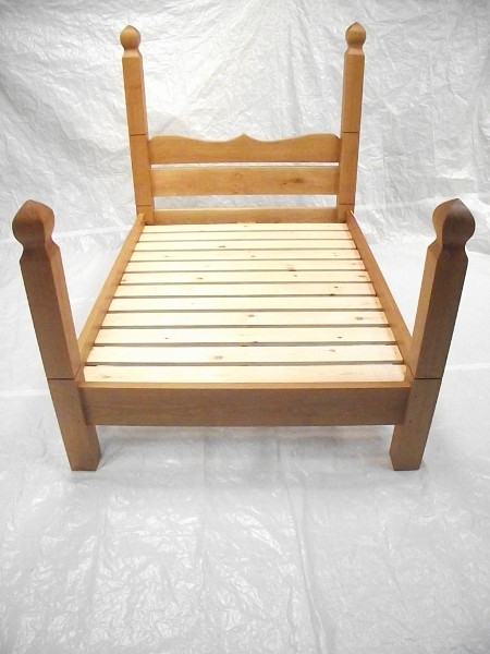 Oak And Pine Bed
