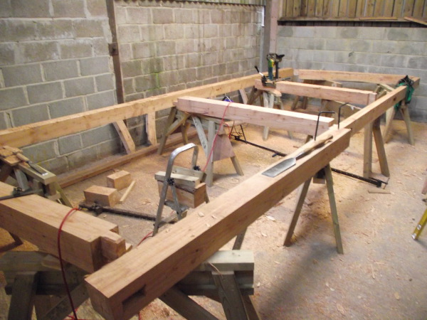 Larch Timber Framing