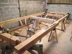Larch Timber Framing