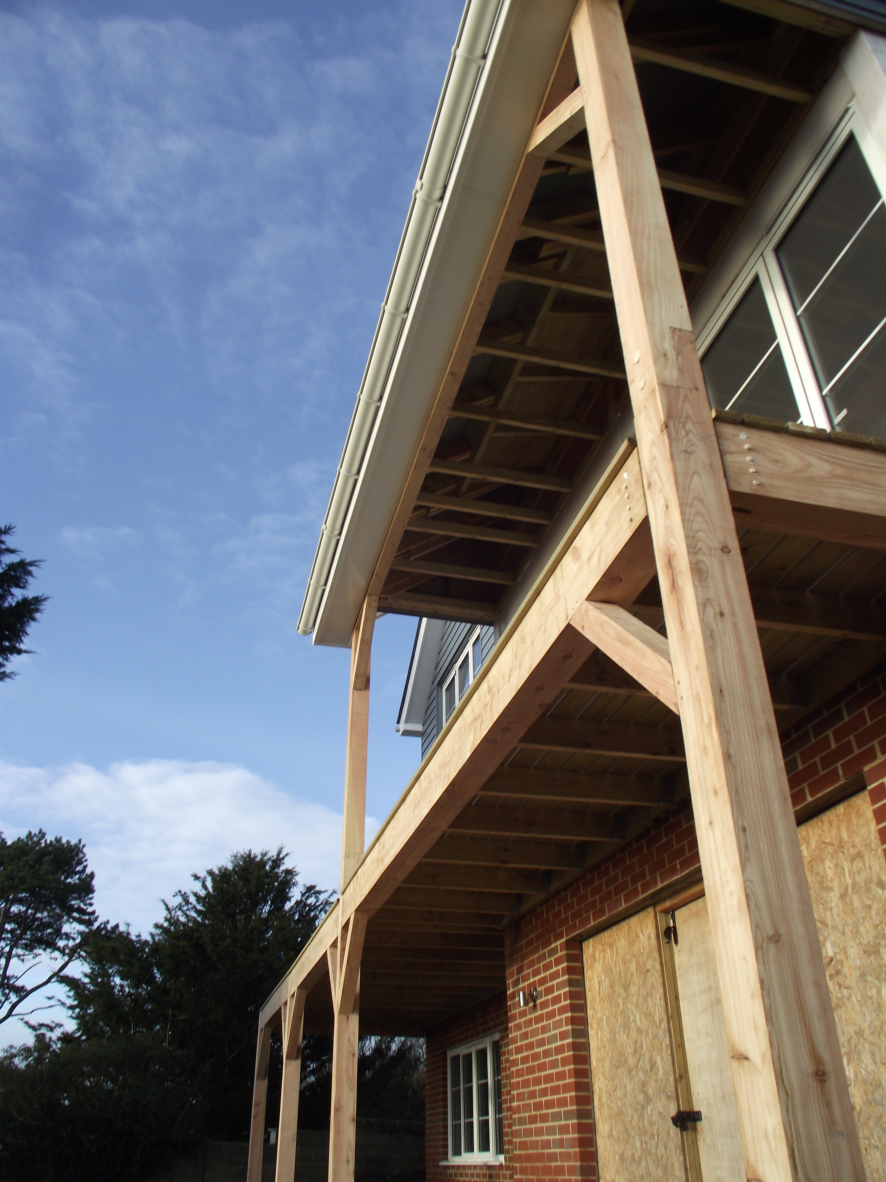 Ilsham Marine Drive Balcony