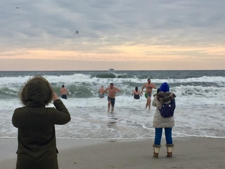Annual Polar Bear Plunge