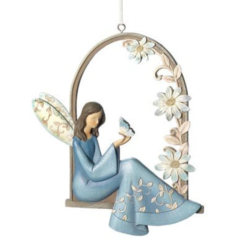 Angel Arbor Wall Plaque