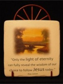 Light of Eternity Plaque/ Stand