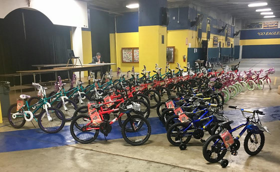 USHCA Christmas Bike Give Away