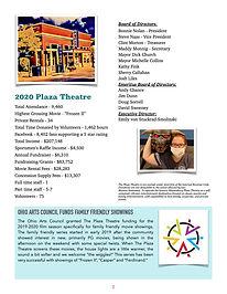 2020 Plaza Theatre Annual Report  PDF FI