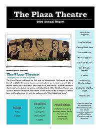 2020 Plaza Theatre Annual Report  PDF Up