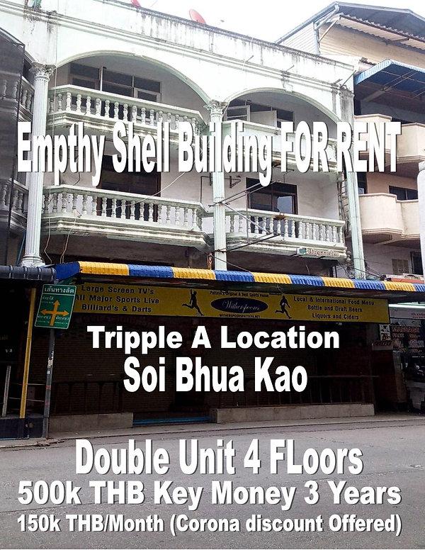 Double Unit Emtpy for rent Bhua Kao (9).