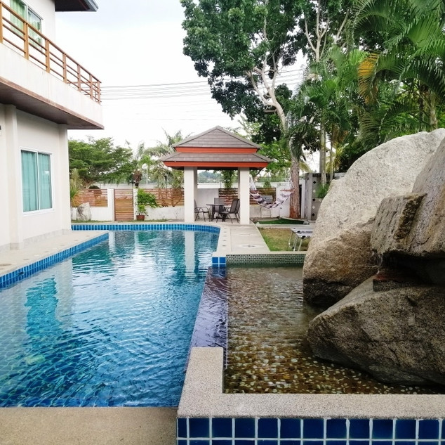 4 Bedroom Pool villa for sale inside Baa