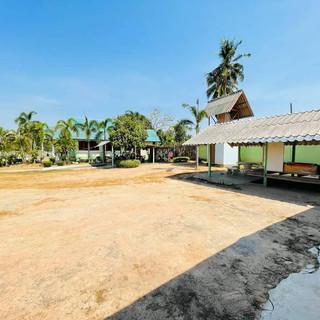 Mabprachan Area Basic House on 1 Rai Lan