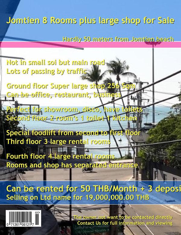 8 Rooms plus shop Jomtien Sale (2).jpg
