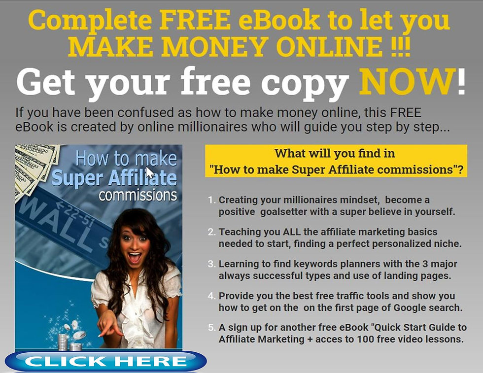 How to make super affiliate commissions