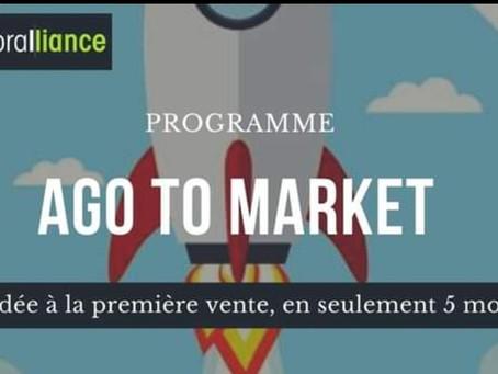 La première cohorte AGOToMarket est lancée !