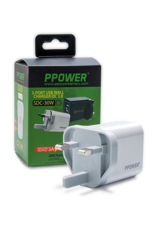 PPOWER 20W USB-C 電源轉換器 (兼容Iphone 12/12 pro 等 )