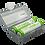 Thumbnail: Ppower - 1 x 2槽 18650 3.7V可充電鋰電池灰色盒(不包括電池)