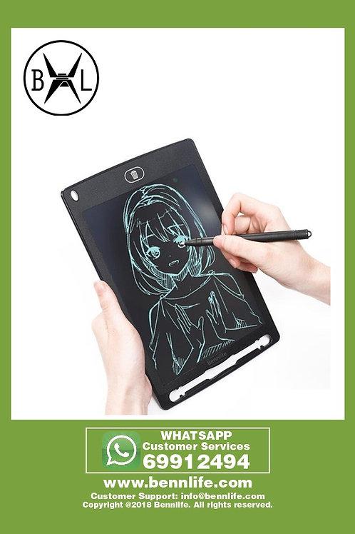 Bennlife賓尼生活 8.5- 英寸LCD 寫字板墊,電子便攜式書寫器,繪圖和書寫板
