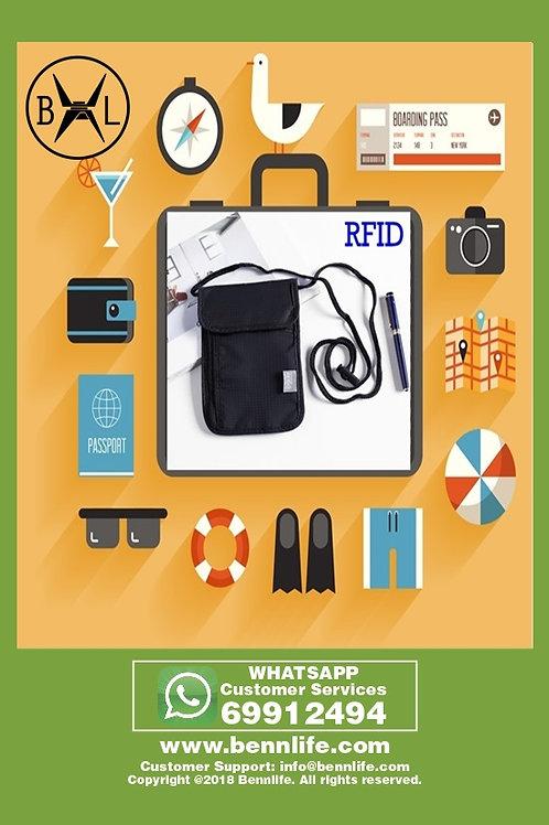 Bennlife 賓尼生活 RFID 男女多功能防水證件收納包
