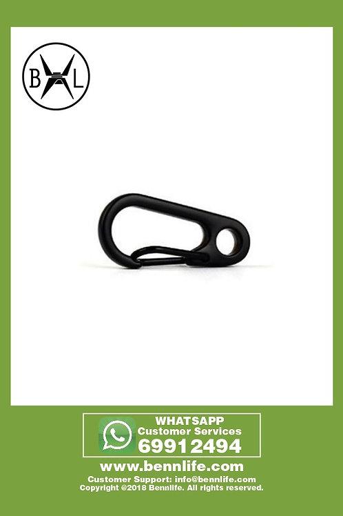 Bennlife賓尼生活 迷你彈簧扣戶外便攜式小工具 (黑色)