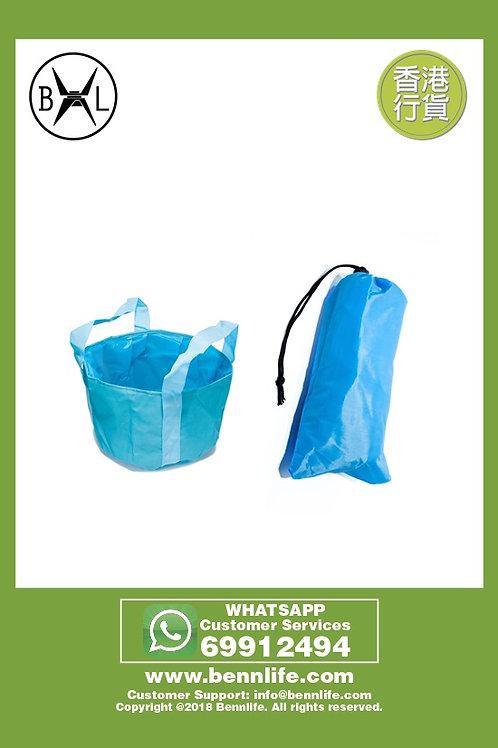 Bennlife賓尼生活 便攜式折疊水袋 戶外旅行露營,釣魚,攜帶袋