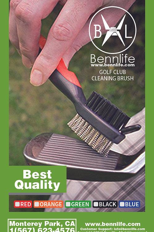 Bennlife賓尼生活  可伸縮高爾夫球桿雙面清潔刷