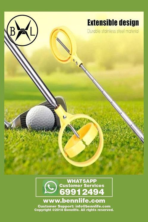 Bennlife賓尼生活  高爾夫球伸縮拾球器 (黃色)