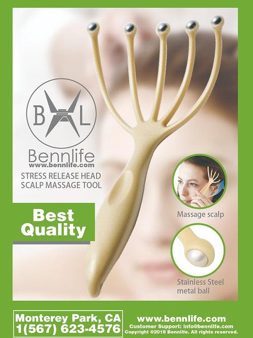 Bennlife賓尼生活  小鋼球頭皮按摩爪