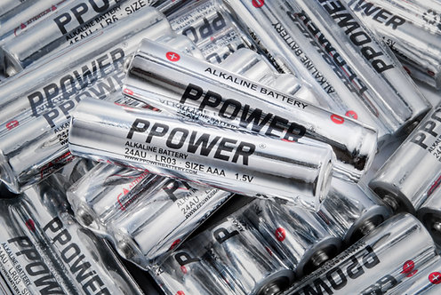 Ppower一次性特強鹼性AAA電池