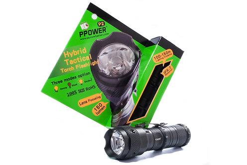 Ppower P2混種聚光電筒
