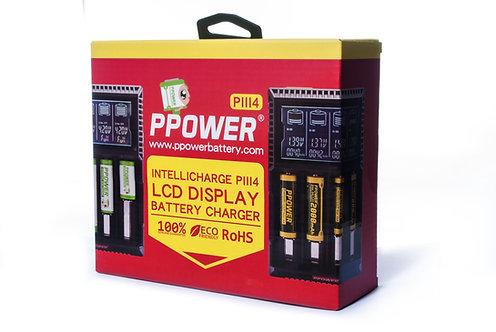 智能萬用顯示四充充電器 (PIII4)