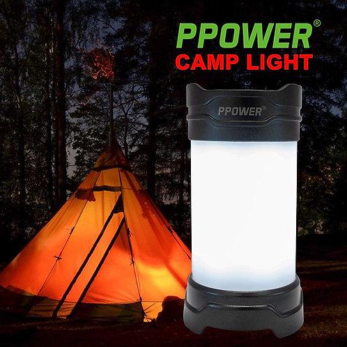 Ppower - 可充電露營LED燈連同電池(適用於各種戶外活動,包括露營,行山等等)