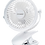 Thumbnail: Ppower USB迷你桌上小風扇/嬰兒車風扇/座檯風扇/三調風速可調(白色 1件跟PPOWER 2600mAh 1 粒)