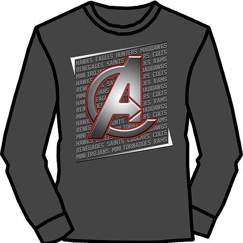 Avengers Metal Long Sleeve