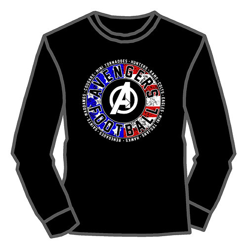 Avengers  Shield L/S Tee