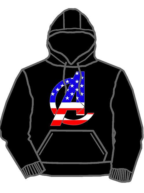 Tri County Avengers American Hoodie