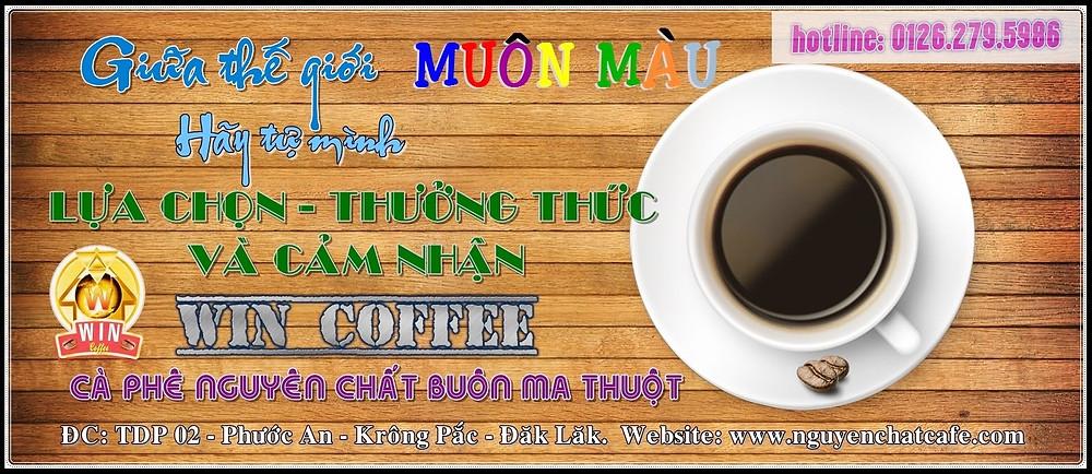 Cà phê hạt rang nguyên chất Buôn Ma thuột