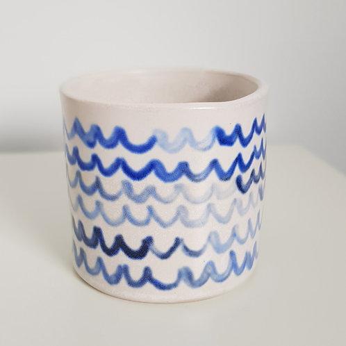 Waves pot/cup