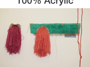 *PREVIEW* of 100% Acrylic, an exhibition of work by Jessie James- Friday 13th February 6-9pm
