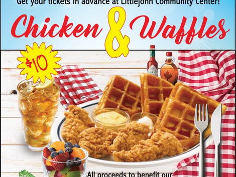 Join Us for Chicken & Waffles!