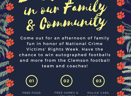 Clemson Police Community Event