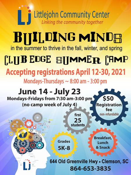 Club Edge Summer Camp 2021