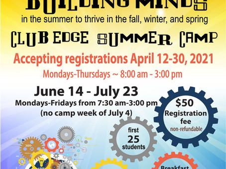 Club Edge Summer Camp 2021