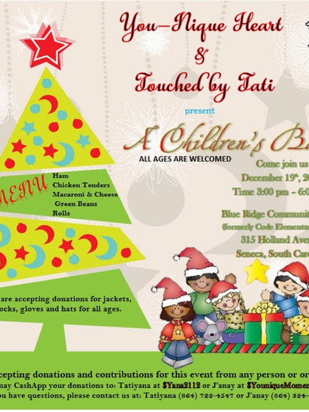 You are invited to A Children's Banquet!